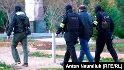 Aqmescitte Bekir Degermenciniñ yaqalanuvı, 2017 senesi noyabr 23 künü