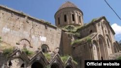 ოშკი, XX საუკუნის ტაძარი, მდებარეობს ერზრუმის პროვინციაში, თურქეთში (ისტორიული ტაო)