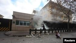 Выбух каля амэрыканскага пасольства ў Анкары 1 лютага 2013 году