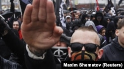 Неонацистська демонстрація в Росії (архівне фото