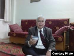 Абдулсамет Алтай, этнический казах, проживающий во Франции.