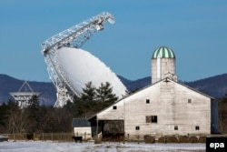 Крупнейший в мире радиотелескоп Green Bank теперь будет искать внеземной разум