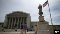 Верховный суд США в Вашингтоне.