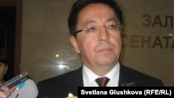Қайрат Лама Шариф, Дін істері жөніндегі агенттіктің төрағасы. Астана, 29 қыркүйек 2011 жыл.