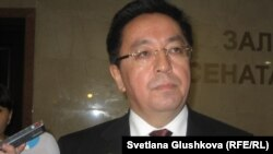 Кайрат Лама Шариф, председатель агентства по делам религий. Астана, 29 сентября 2011 года.