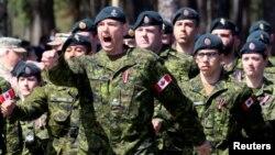 Канадзкія вайскоўцы ў Латвіі