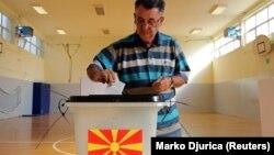 Macedonia - Гласање на референдумот за името во Скопје - 30Sep2018