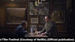 Scenă din filmul The Irishman