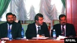 Нишасти соҳибкорони Арабистони Саудӣ дар Душанбе. 22-юми майи соли 2009.