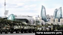 Ադրբեջանական բանակի զորահանդեսը մայրաքաղաք Բաքվում, արխիվ
