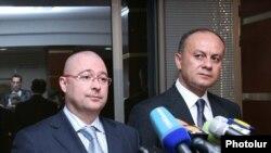 Совместная пресс-конференция министров обороны Армении и Чехии, 26 марта 2010 г.