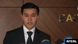 Қаржы полициясының ресми өкілі Мұрат Жұманбай. Астана, 2009 жыл.