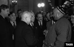 Никита Хрущев на ХХ съезде КПСС, 1956 год