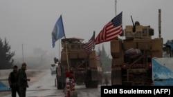 Сириядағы АҚШ әскерилері.