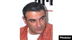 "Armenia - Hayk Gevorgian, a journalist for the ""Haykakan Zhamanak"" newspaper."