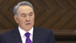 Kazakh President Nursultan Nazarbaev