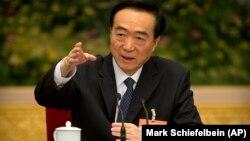 Çin Kommunist Partiyasının Sintzyan üzrə birinci katibi Chen Quanguo