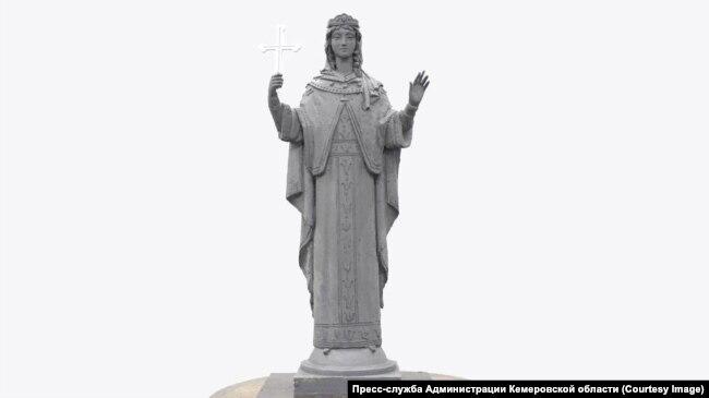 Проект скульптуры Варвары – защитницы шахтеров