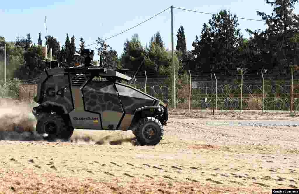 But not all unmanned vehicles have failed their baptism of fire. The Guardium, an Israeli-made buggy, has been prowling Israel's flashpoint perimeters since its introduction in 2012.