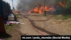 Пожары в Канске, май 2017