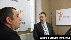 Invitații emisiunii Alexandru Tănase și Victor Munteanu
