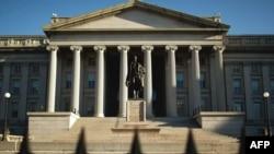 بنای وزارت خزانهداری آمریکا در واشنیگتن دی. سی.