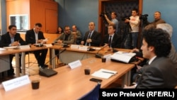 Parliament session about salt factory in Ulcinj