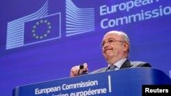 """Руководитель антимонопольного ведомства Европейской комиссии Хоакин Альмуния: """"В сговоре оказались банки, которые, по идее, должны конкурировать"""""""