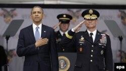 Президент США Барак Обама в Вест-Пойнте