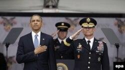 Барак Обама в академии Вест-Пойнт