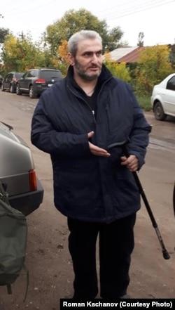 Борис Стомахин после освобождения из тюрьмы УФСИН в г. Балашов Саратовской области