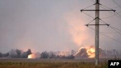 Нападите на преферијата на украинскиот град Мариупол