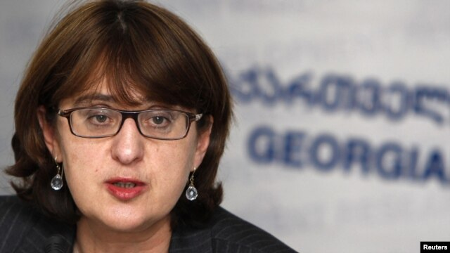 Georgian Foreign Minister Maia Panjikidze (file photo)