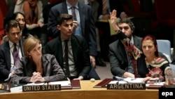 Заседание Совета Безопасности ООН.