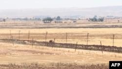 Турецко-сирийская граница.