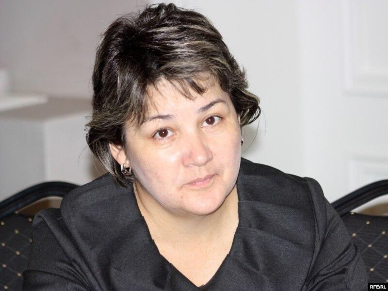 Зульфия Байсакова, руководитель Союза кризисных центров Казахстана. Алматы, 25 ноября 2009 года