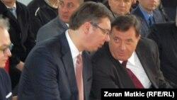 Tajni ili javni savjeti: Aleksandar Vučić i Milorad Dodik