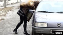 İnsan alveri. Foto arxiv