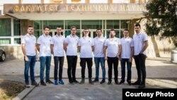 """Tim studenata koji je nedavno osvojio prvo mjesto na ovogodišnjem takmičenju """"EUROBOT 2019"""" u Francuskoj"""