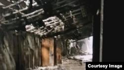 """Так выглядят сейчас помещения сгоревшего ТРЦ """"Зимняя вишня"""""""