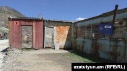 Փամբակի բուժկետն ու փոստն այս տնակներում են տեղակայված, մայիս, 2017 թ․