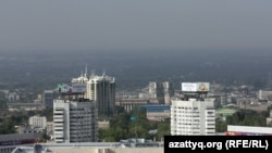 Смог над Алматы. Иллюстративное фото.
