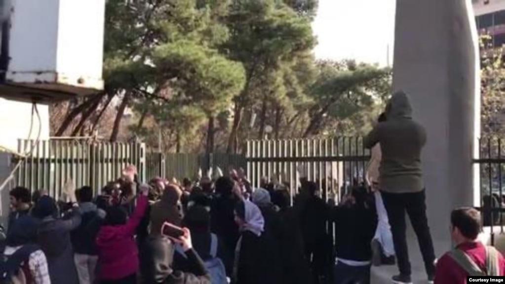 اعتراضات در دانشگاه تهران