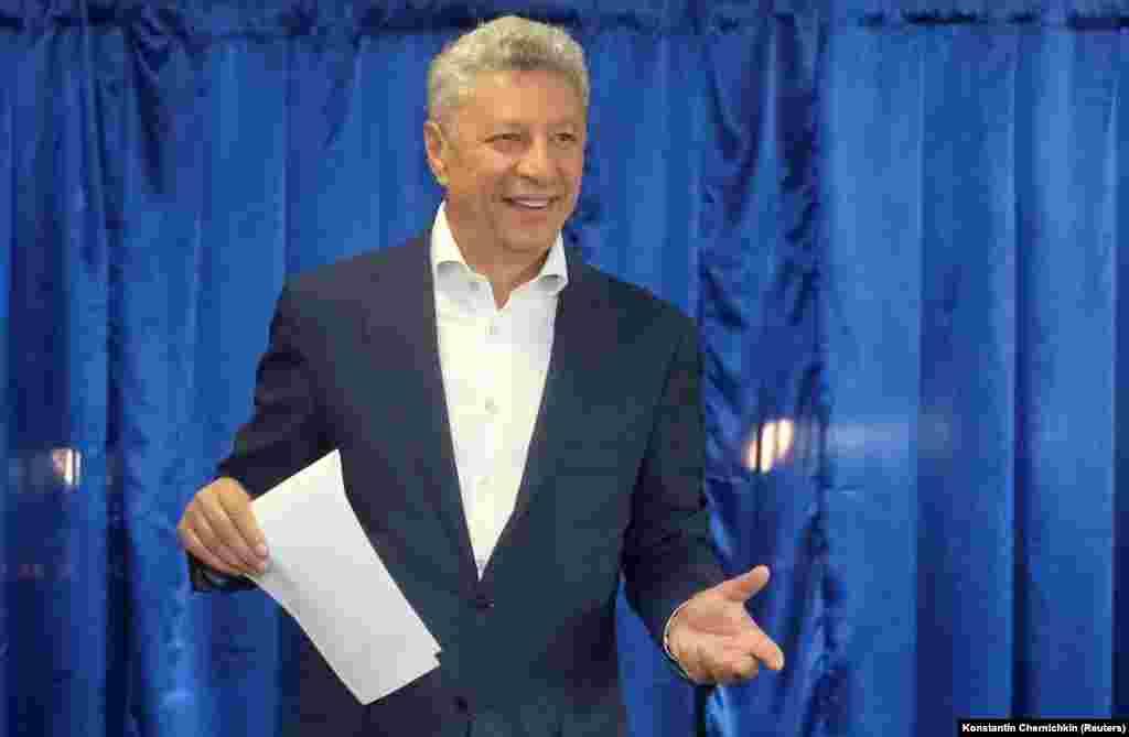 Один из лидеров партии «Оппозиционная платформа – За жизнь»Юрий Бойко