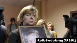 Сталина Чубенко, мать Степана Чубенко, на заседании суда в 2017 году