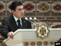 Turkmen President Gurbanguly Berdymukhammedov