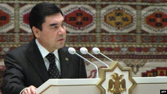 Turkmen President Gurbanguly Berdymukhamedov