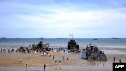 Франция -- Нормандиядагы салтанат, 6-июнь, 2014