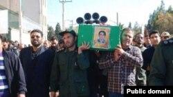 ایران؛ مراسم خاکسپاری گروهی از کشتهشدگان سپاه پاسداران در سوریه