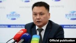 Дамир Сагынбаев.